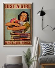Book Just A Girl 16x24 Poster lifestyle-poster-1