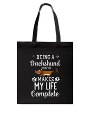 Dachshund mom Tote Bag thumbnail