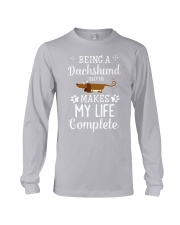 Dachshund mom Long Sleeve Tee thumbnail