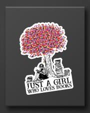 Book Just A Girl Sticker - Single (Vertical) aos-sticker-single-vertical-lifestyle-front-08