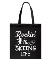 Skiing life Tote Bag thumbnail