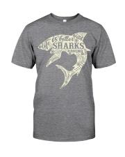 Shark Life is better - Hoodie And T-shirt Classic T-Shirt thumbnail