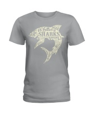 Shark Life is better - Hoodie And T-shirt Ladies T-Shirt thumbnail
