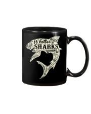 Shark Life is better - Hoodie And T-shirt Mug thumbnail