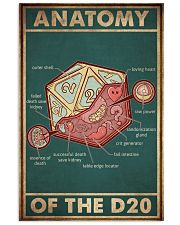 Anatomy Of The D20 24x36 Poster front