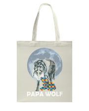 Papa Wolf Tote Bag thumbnail