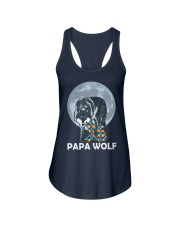 Papa Wolf Ladies Flowy Tank thumbnail
