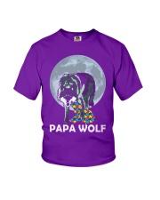 Papa Wolf Youth T-Shirt thumbnail