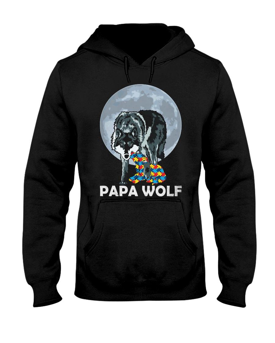 Papa Wolf Hooded Sweatshirt