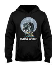 Papa Wolf Hooded Sweatshirt front