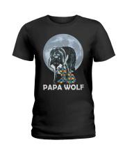 Papa Wolf Ladies T-Shirt thumbnail