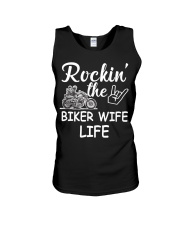 Biker Wife life Unisex Tank thumbnail