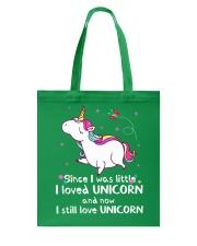 Love Unicorn Tote Bag thumbnail