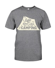 Life is better when i'm camping Classic T-Shirt thumbnail