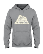 Life is better when i'm camping Hooded Sweatshirt thumbnail