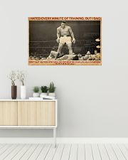 Boxing I Hated Minite Of Training 36x24 Poster poster-landscape-36x24-lifestyle-01