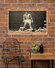 Boxing I Hated Minite Of Training 36x24 Poster poster-landscape-36x24-lifestyle-20