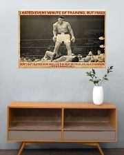Boxing I Hated Minite Of Training 36x24 Poster poster-landscape-36x24-lifestyle-21