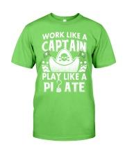Work like a Captain Classic T-Shirt thumbnail