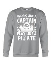 Work like a Captain Crewneck Sweatshirt thumbnail