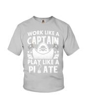 Work like a Captain Youth T-Shirt thumbnail