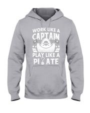 Work like a Captain Hooded Sweatshirt thumbnail