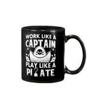 Work like a Captain Mug thumbnail