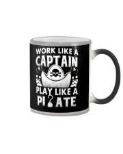 Work like a Captain Color Changing Mug thumbnail