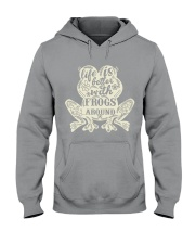 Life is better with frogs around Hooded Sweatshirt thumbnail