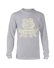 Life is better with frogs around Long Sleeve Tee thumbnail