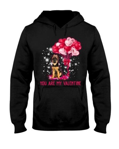 Dog K9 You Are My Valentine