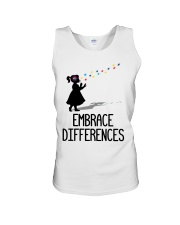 Embrace Differences Unisex Tank thumbnail