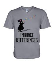 Embrace Differences V-Neck T-Shirt thumbnail