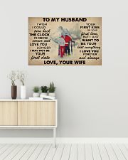 Skiing To My Husband 36x24 Poster poster-landscape-36x24-lifestyle-01