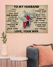 Skiing To My Husband 36x24 Poster poster-landscape-36x24-lifestyle-18