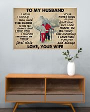 Skiing To My Husband 36x24 Poster poster-landscape-36x24-lifestyle-21