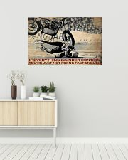 Biker If Everything Is Under Control 36x24 Poster poster-landscape-36x24-lifestyle-01