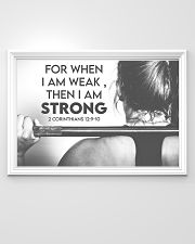 Fitness I Am Strong 36x24 Poster poster-landscape-36x24-lifestyle-02