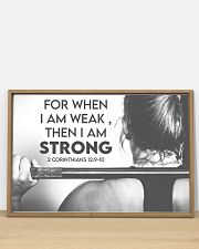 Fitness I Am Strong 36x24 Poster poster-landscape-36x24-lifestyle-03