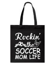 soccer mom life Tote Bag thumbnail