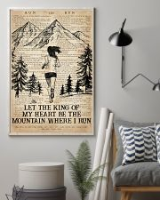Running Let The King Of My Heart Be The Mountain 16x24 Poster lifestyle-poster-1