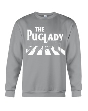 the pug lady Crewneck Sweatshirt thumbnail