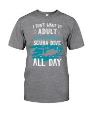 I just want to scuba dive Classic T-Shirt thumbnail
