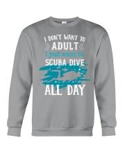 I just want to scuba dive Crewneck Sweatshirt thumbnail
