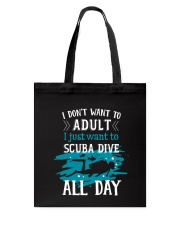 I just want to scuba dive Tote Bag thumbnail