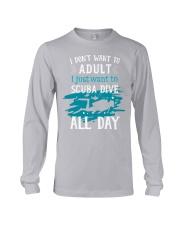 I just want to scuba dive Long Sleeve Tee thumbnail