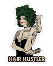 Hairdresser Hair Hustler Sticker - Single (Vertical) front