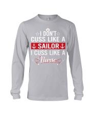 I don't cuss like a sailor Long Sleeve Tee thumbnail
