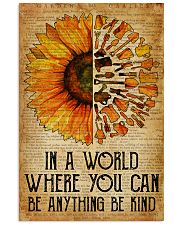 Garden You Can Be Anything 16x24 Poster front