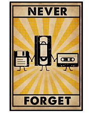 Never Forget 16x24 Poster front